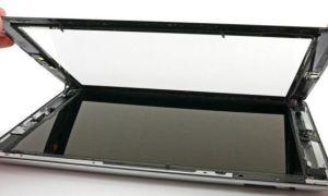 Грамотная замена стекла планшета