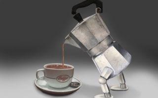 Ещё один робот, который варит кофе
