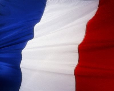 Flag of France --- Image by © Royalty-Free/Corbis
